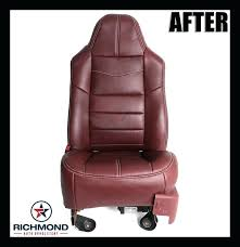 replacement leather seat covers ford f king ranch leather seat cover driver bottom king ranch replacement
