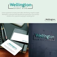 Product Design Wellington Modern Elegant Logo Design For Wellington Event Hire By