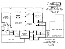 Kitchen Floor Plans Designs Single Story House Plans With Large Kitchens Escortsea