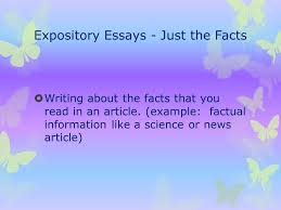 my essay terms your ppt  expository essays just the facts