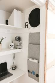 Home office in closet Desk Clothes Interior Of Office In Closet Neginegolestan Closet Office Means Anyone Can Work From Home Architectural Digest