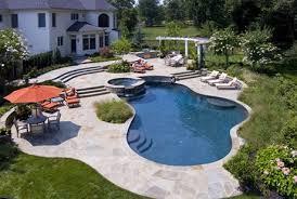 Beautiful Backyard Pools Model Simple Ideas