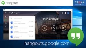 Download hangouts for windows pc from filehorse. Launch Google Hangouts As A Windows 10 Desktop App Camya