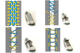 Shoelace Patterns Adorable Shoe Lace Patterns Searchlight