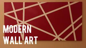 <b>DIY</b> Quick and Easy <b>Modern</b> Wall Art on <b>Canvas</b> - YouTube