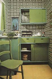 1970S Interior Design Interesting 48's Interior Design In 48 Vintage Retro Kitchens Pinterest