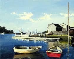 christine hopkins cape cod massachusetts landscape seascape lighthouse paintings art artist