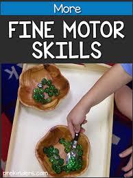 more fine motor skills prekinders