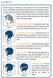 Child Ski Helmet Size Chart Size Charts For Boeri Helmets