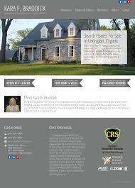 Web Design Lexington Va Lexington Va Real Estate With Kara Braddick Competitors
