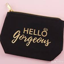 o gorgeous canvas makeup bag 6 gifts your bridesmaids will love kate aspen