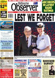 Melbourne Observer April 22 2015 by Ash Long issuu