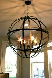 chandeliers large globe chandelier chandeliers 6 light orb lamp medium size of designs gold