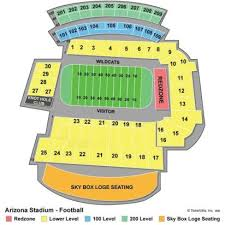Arizona Stadium Seating Chart Stadium Flow Charts