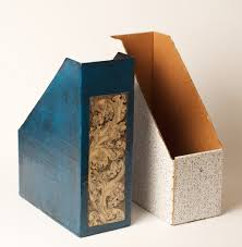 Cardboard Magazine Holder Paper Mache Magazine Holder Magazine holders Paper mache and 77