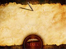 Powerpoint Background Book The Gospel Of Mark Powerpoint Template New Testament Books