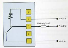 electrical installation frost thermostat wiring