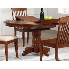 iconic furniture cinnamon pany 42 inch round dining table chestnut