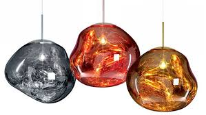 glass blown pendant lighting. tom dixon launches u201challucinogenicu201d melt lamps at milan design week glass blown pendant lighting t