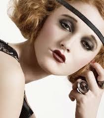 20 tallet roaring 20s makeup1920s makeup gatsby1920s inspired