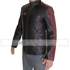 mass effect faux leather jacket prev