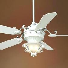 French White Ceiling Fan Country Fans With Lights Cool Impressive