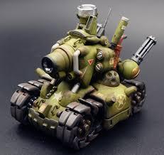 017 1 35 scale model metal slug tank finished plastic model kit rainforest painting