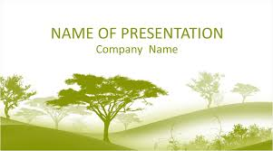 Tree Powerpoint Template Trees Powerpoint Template Templateswise Com