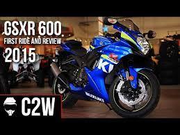 2016 suzuki gsxr 600 first ride and