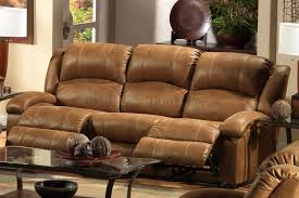saddle faux leather dawson reclining sofa loveseat set intended for leather couch recliner