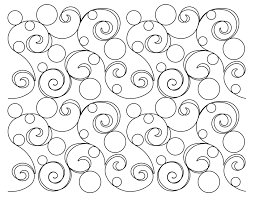 Longarm Quilting Designs Free Circle Swirls B2b Edge To Edge Digital Quilting