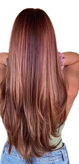unique hair color styles for long hair