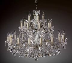 venice crystal chandelier 28 arms brass or nickel msrp 1199