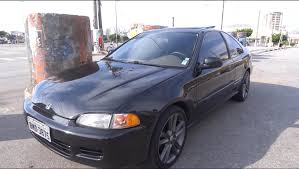 Civic Coupe EX 93 Brazil - YouTube