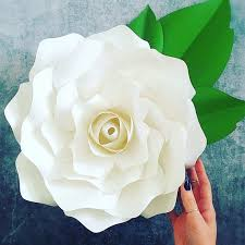 Giant Paper Flower Svg Large Gardenia Paper Flowers Gardenia Flower Templates Giant Paper