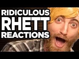 Ridiculous Rhett Reactions Youtube Ridiculous Reactions Youtube Rhett Ridiculous wq68npI