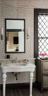 Powder Room Wallpaper 208 Best Pretty Bathrooms Images On Pinterest Powder Room