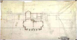 Frank Lloyd Wrightu0027s Usonianstyle George Sturges House To Be Sold Frank Lloyd Wright Floor Plan