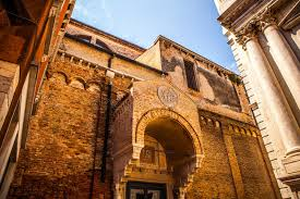 famous architectural buildings. Download Famous Architectural Monuments And Colorful Facades Of Old Medieval Buildings Close-up N Venice