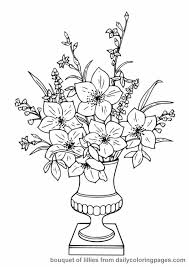Small Picture Free Coloring Books for Adults realistic flower coloring pages