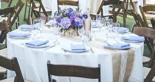 round table runner wedding burlap for overlays full size