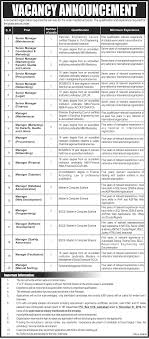 po box 2066 islamabad jobs 14 2016 in renowned p o box 1078 islamabad renowned organization latest jobs
