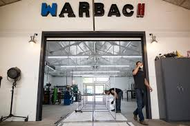 buck hubach and nathan warner made light fixtures for fun before opening warbach lighting and design in east austin