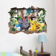 pokémon wall decals wall stickers