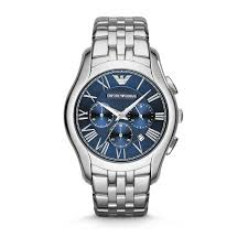 emporio armani chronograph men s blue dial stainless steel emporio armani chronograph men s blue dial stainless steel bracelet watch