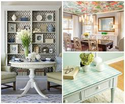 Wallpapered Living Rooms 25 Amazing Dining Rooms With Wallpaper