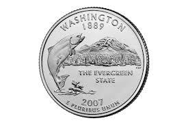 Idaho State Quarter Design Facts About The Washington State Quarter