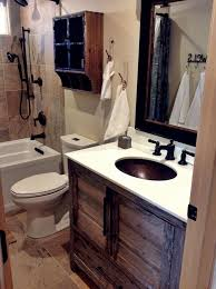 country rustic bathroom ideas. Country Rustic Bathroom Ideas Incredible On Intended For Small Best 25 Cabin Only 17