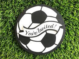 Soccer Party Invitations Soccer Invitations Soccer Birthday Invitations Soccer Party Etsy