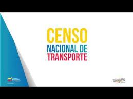Resultado de imagen para censo nacional de transporte